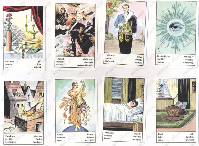 Fortune Telling Cards #32120