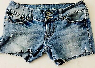 Women's Jeans Bull Head Cut Off Short Jean Shorts-3 (Head Cut Off)