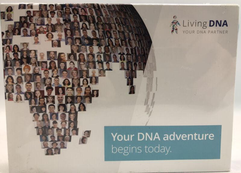 LIVING DNA ANCESTRY TEST KIT, MOUTH SWAB / SALIVA - Exp 05/31/2021 - NEW/SEALED