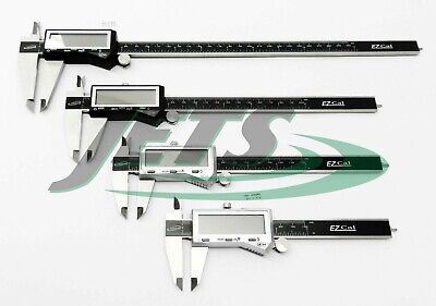 4pc Igaging Digital Caliper Set - 4 6 8 12 Stainless Fractional 3 Way Ez Cal