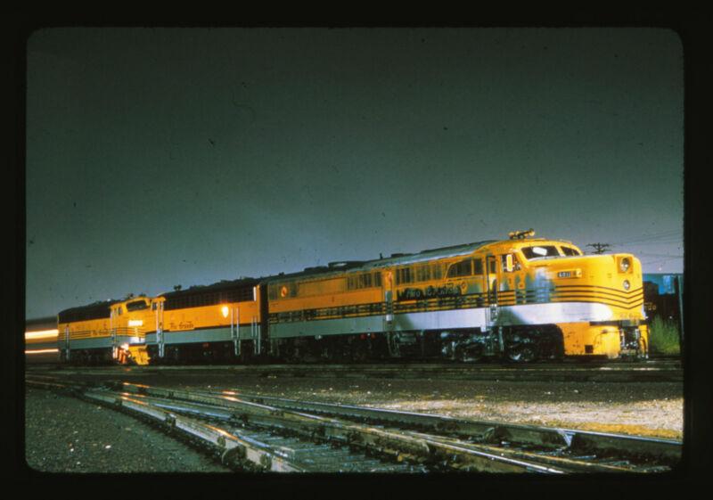 35mm Ektachrome Slide - Rio Grand Locomotive Engine #6011