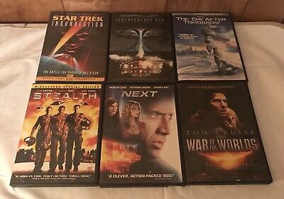 ACTION DVD MOVIE LOT ~ LOT OF 6 GREAT ACTION PACKED MOVIES