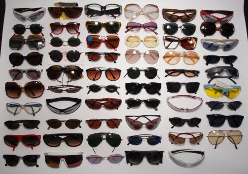 Lot 59 Vintage Designer Sunglasses Carrera DKNY Ray-Ban Serengeti Versace & More