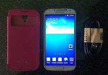 Samsung Galaxy S4 16G unlocked good working with usb cable case Rockdale Rockdale Area Preview