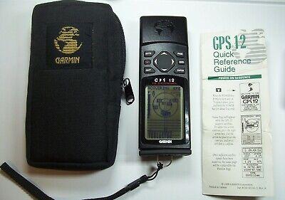 Garmin GPS 12 MAP Handheld Personal Navigation Device Hiking Hunting Marine