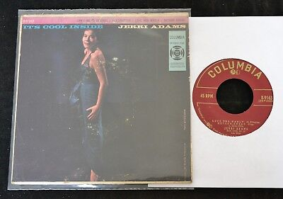 EP Jerri Adams It's Cool Inside COLUMBIA 9163 Can't We Be Friends, Imagination,
