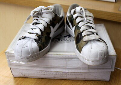 Bape Sta A BATHING APE Men's Footwear 1st Camo Scull Foot Soldier US 11 [ke]