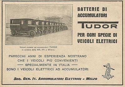 Acumuladores eléctricos Tudor Z0031 - Anuncio de 1926 - Publicidad