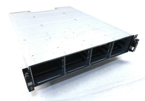 """Dell SC200 Compellent 3.5"""" Storage Array w/ 2x 0TW47 Controllers and 2x 700W PSU"""