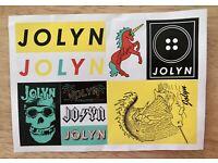 JOLYN Dancing lady sticker