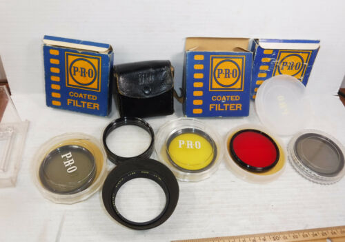 Hoya 55 mm Close-Up Lens Set (1,2,3) with Pro Polarized Red Yellow Filters
