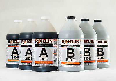 Roklin Systems Inc. Polyflex Ds Concrete Crack Repair 3-gal Kit Grey