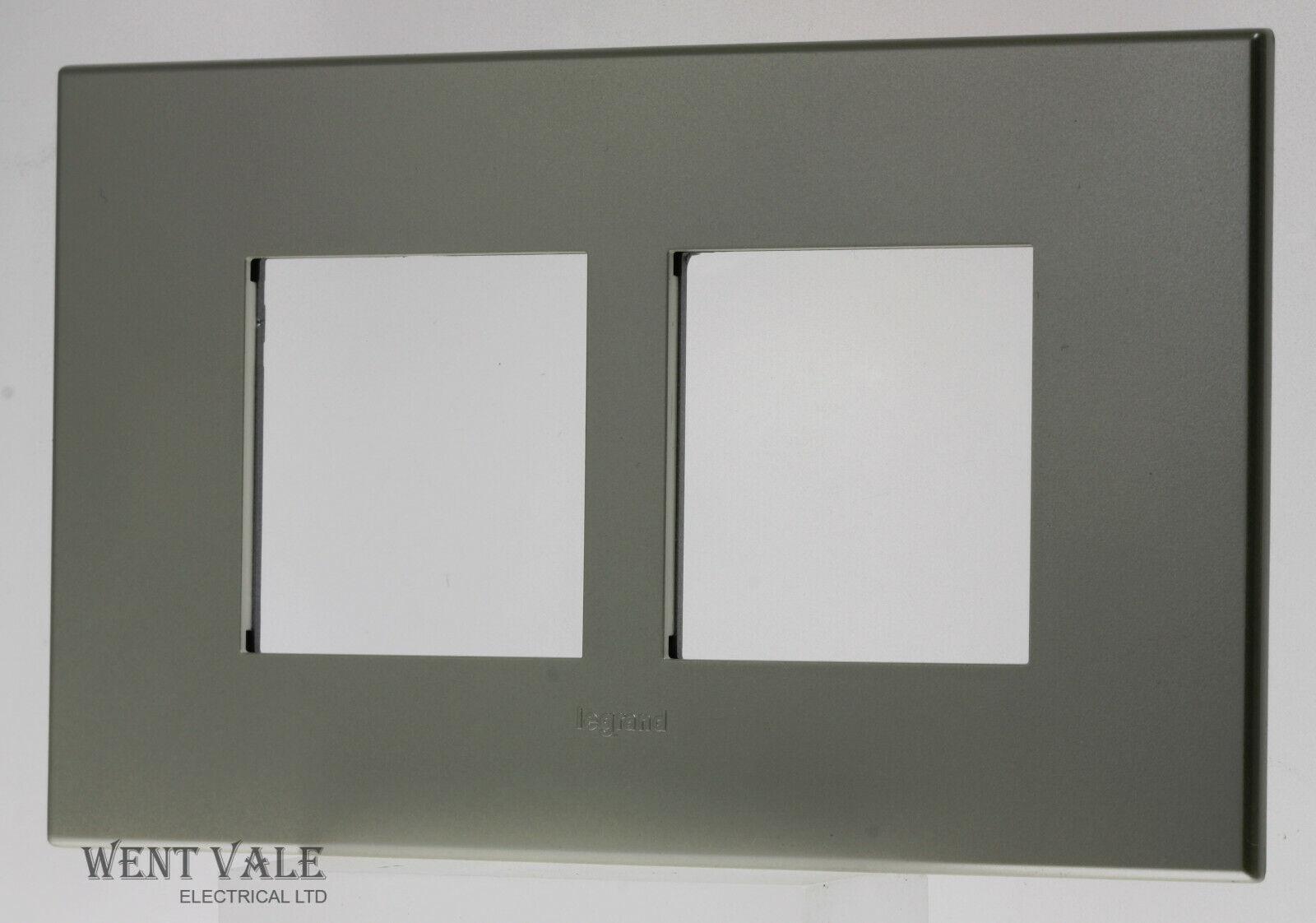 Legrand Arteor Neutral Range 5713 24 - 2g 2 x 2, 4 Modual Champagne Cover Plate