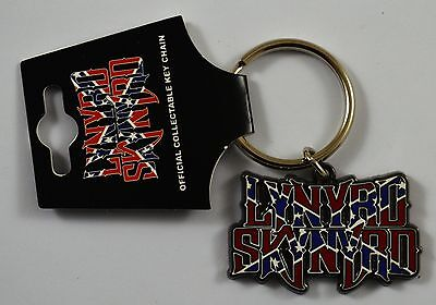 Collectable Iconic Lynyrd Skynyrd Metal Band Logo Keyring. Officially Licensed