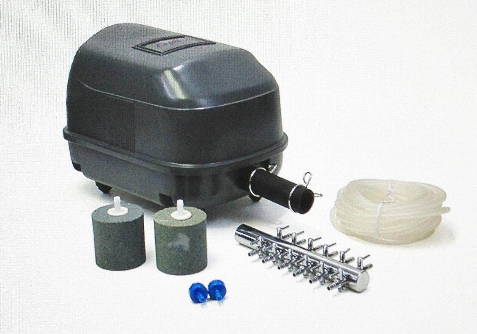 Laguna air pump kit 45 pt 1620 max operating depth 9 for Pond pump kit