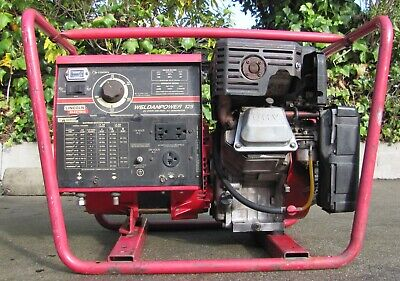 Lincoln Weldanpower 125 Gas Powered Dc Arc Welder Generator 9 Hp Briggs Stratt