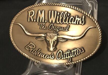 R M WILLIAMS Trophy Belt Buckle **FREE POSTAGE**