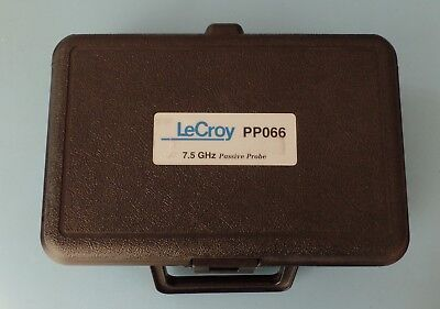 Teladyne Lecroy Pp066 7.5 Ghz Low Capacitance 1020 Transmission Line Probe