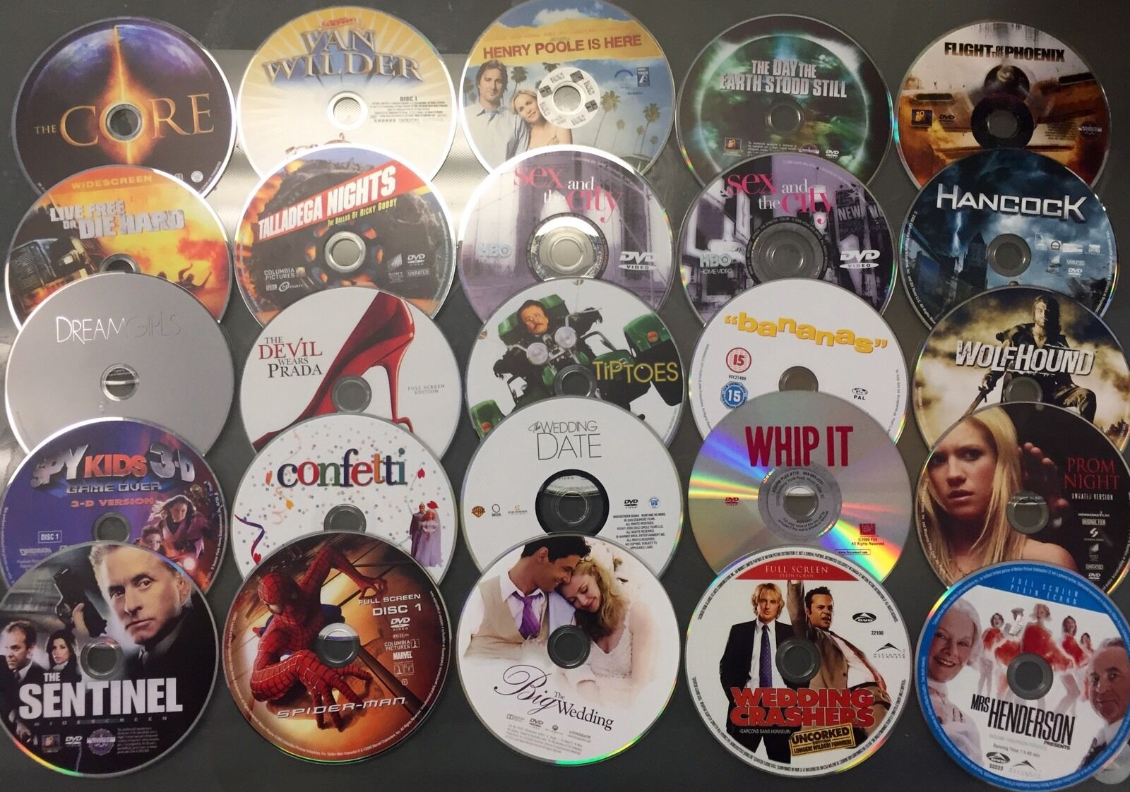WHOLESALE LOT OF 50 ASSORTED DVDS MOVIES BULK MIXED USED MOVIES! 3 FREE GAMES!