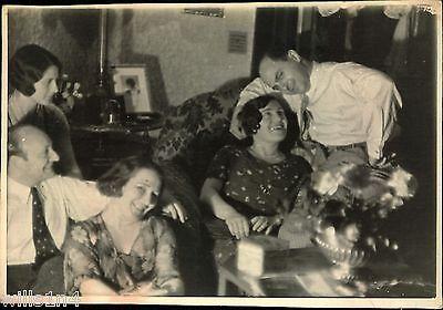 Original vintage Jewish Opera Singer Rosa Bok Black White Photo 1930s Friends