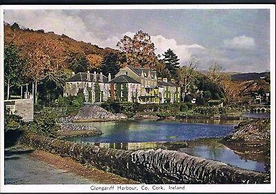 EIRE POSTCARD 1956 GLENGARIFF HARBOUR CO CORK IRELAND