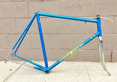 1985 60cm Gitane Professional Team Replica Reynolds 531c Lugged Steel Frame Set