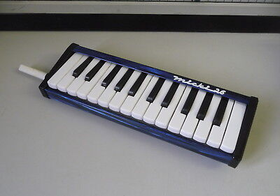 Melodica Blowing Harmonica Micki 26 IN Leather Bag Defective