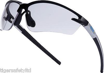 Delta Plus Venitex Fuji 2 Clear Protective Cycling Sunglasses Eyewear Glasses UK