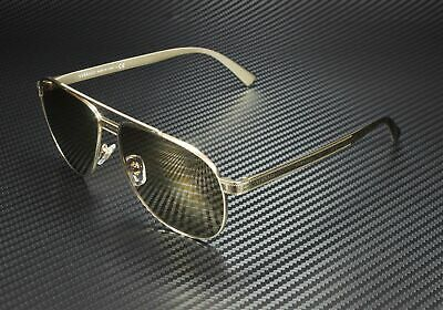 VERSACE VE2209 1252V3 Pale Gold Brown Tamp Silver Gold 58 mm Unisex Sunglasses