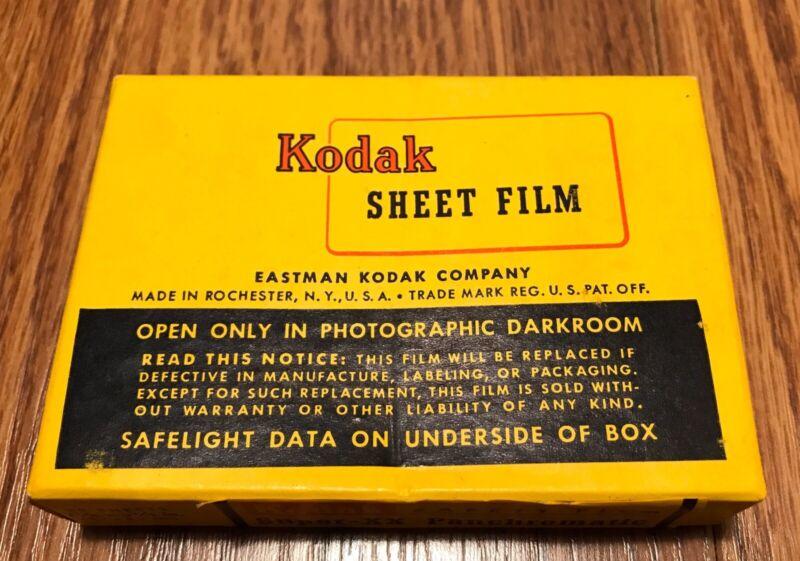 KODAK Super-XX Panchromatic Sheet Film High-Speed Type B - Expired 1957 ~ SEALED