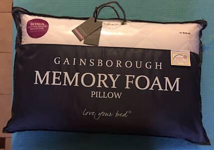 GAINSBOROUGH MEMORY FOAM PILLOW - NEW