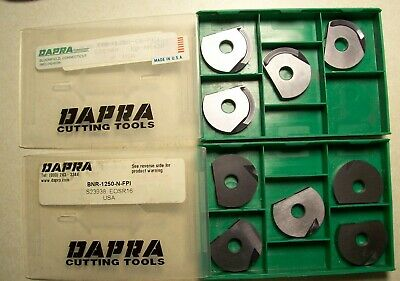 Dapra Carbide Inserts 9 Pieces 2 Different Styles