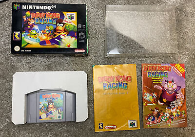 Diddy Kong Racing N64 UK PAL RARE COMPLETE - great condition with box protector