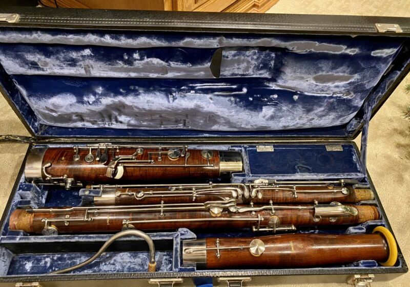 Puchner bassoon. High D Key Serviced And Ready To Play