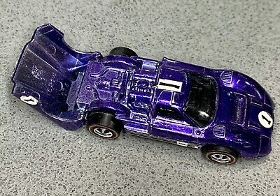 Hot Wheels Redline Purple Ford J-Car Engine Overspray
