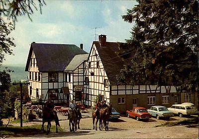 Malmedy Beverce Ferme-Libert Hotel-Restaurant Carte Postale CPA ~1970 unused (Restaurant, Cart)