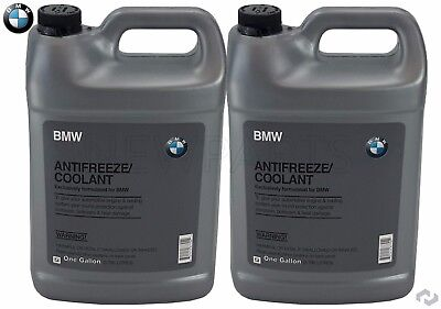 NEW 2-Gallons Genuine BMW Blue Color Antifreeze / Coolant
