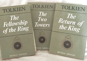 The Lord Of The Rings Book Set of 3