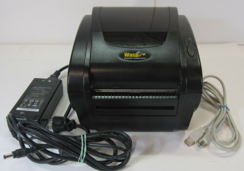 Wasp WPL205E Thermal Label Barcode Printer With Power Supply