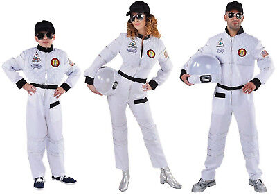 Astronaut Astronautenkostüm Raumanzug Spaceman Kostüm Uniform Weltall Helm - Astronaut Kostüm