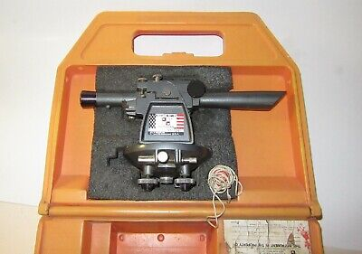 David White 8080 Instruments Surveying Transit With Case