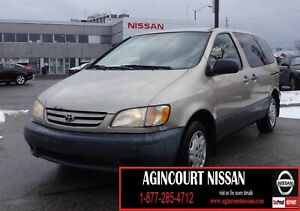 2002 Toyota Sienna CE |AS-IS SUPER SAVER|