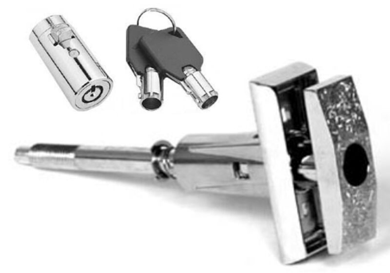 Dixie Narco early style machines, T-handle Assembly and upgraded lock