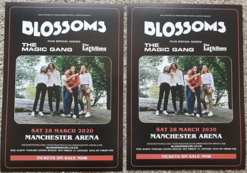2 Flyers - Blossoms - 28th March 2020 - Manchester Arena