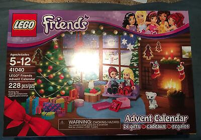 LEGO Friends Advent Calendar w/ Mia Eva Fawn (41040) NIB FACTORY SEALED