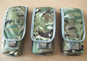 NEW-Genuine-MoD-Issue-MTP-Multicam-Single-Magazine-Ammo-Pouch-x-Set-of-THREE
