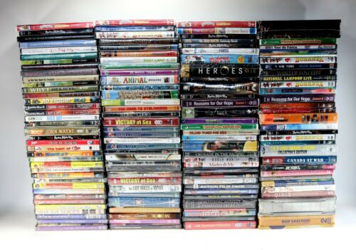 HUGE LOT of 160+ Brand New & Sealed DVD Movies Collection Media - ESTATE FIND !