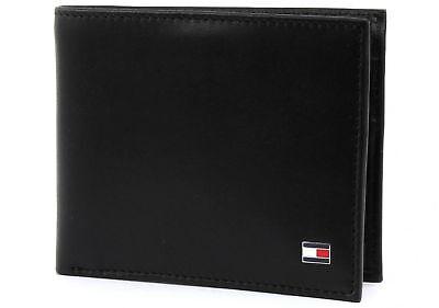TOMMY HILFIGER Eton Mini CC Wallet Geldbörse Portemonnaie Schwarz Black Neu