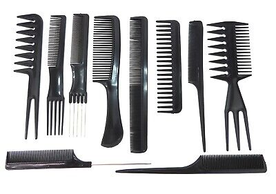 10 PIECES, PROFESSIONAL STYLING COMB SET