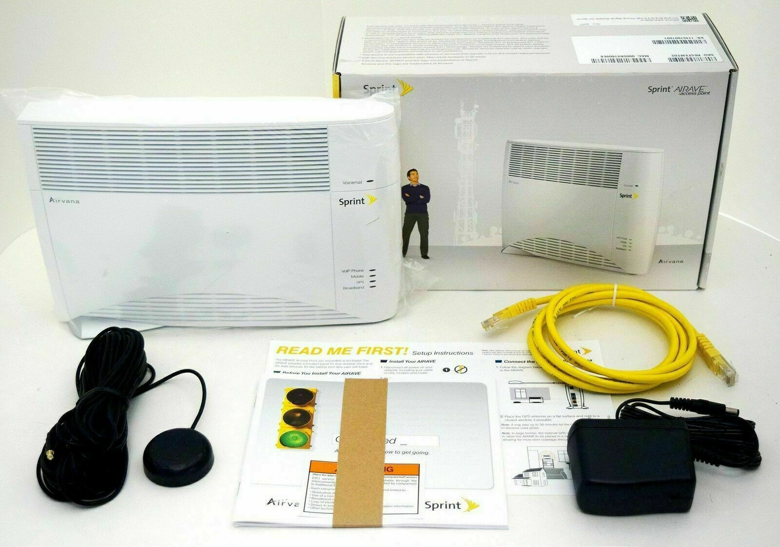 Sprint Airave Airvana Access Point Cell Phone Signal Booster